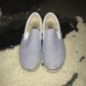 Striped Slip-on Vans